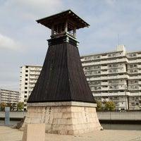Photo taken at Imazu Lighthouse by neko1go on 4/21/2014