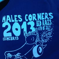 Photo taken at Hales Corners Bed Races by Jacqueline T. on 7/4/2013
