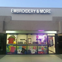Photo taken at DP Embroidery and Screen Printing by Kenneth R. on 6/11/2013