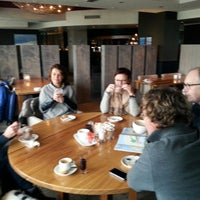 Photo taken at Sandton Paal 8 Hotel aan Zee by Paul t. on 1/25/2014