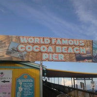 Photo taken at Cocoa Beach Pier by Will M. on 7/18/2013
