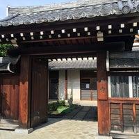 Photo taken at 天真寺 by Hiroshi M. on 9/24/2016