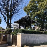 Photo taken at 天真寺 by Hiroshi M. on 3/25/2018