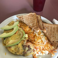 Photo taken at Omelette & Waffle Café by Alina E. on 11/29/2016