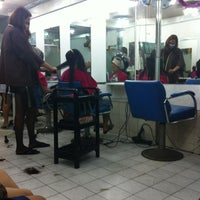 Photo taken at May Hair Cut by hlin_kk on 12/28/2012