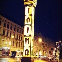 Photo taken at Laimas Pulkstenis   Laima clock by Alia G. on 11/2/2013