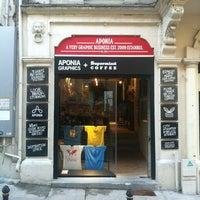 5/20/2013 tarihinde Eser T.ziyaretçi tarafından Aponia Galata'de çekilen fotoğraf