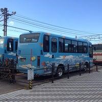 Photo taken at 鶴来駅バスターミナル by ちんたん on 11/23/2013