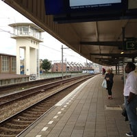 Photo taken at Station Amsterdam Muiderpoort by Daan V. on 8/21/2012