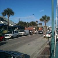 Photo taken at New Smyrna Beach Flagler Ave by Ana M. on 3/28/2012