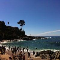 Photo taken at Playa Las Conchitas by Tamara S. on 2/17/2012