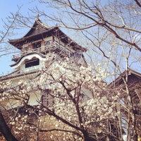 Photo taken at Inuyama Castle by agiira on 3/15/2012