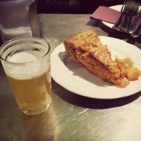 Photo taken at Juana la Loca Pintxos-Bar by Elena L. on 5/26/2013