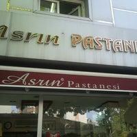 Photo taken at Asrın Pastanesi by Yusuf A. on 5/23/2013