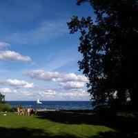 Photo taken at Taarbæk Havn by Sergey K. on 8/24/2013