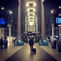 Photo taken at Copenhagen Airport (CPH) by Sergey K. on 10/23/2013