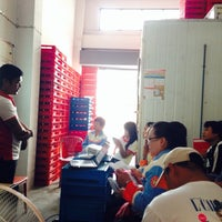 Photo taken at ศูนย์นมดีไลท์ท่าพระ by Tal S. on 6/29/2014