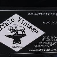 Photo taken at Buffalo Vintage & Industrial by Jen P. on 4/12/2014