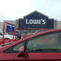 Photo taken at Lowe's Home Improvement by Jen P. on 3/3/2013