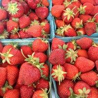 Photo taken at Abingdon Square Greenmarket by Allison M. on 6/22/2013
