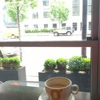 Photo taken at Giovane Café + Market + Eatery by David D. on 5/29/2013