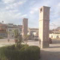 Photo taken at Plaza de Armas de Chivay by Bogdan D. on 11/23/2014