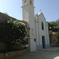 Photo taken at Santuario Beata Vergine di Porto Salvo by Giulio G. on 7/21/2013