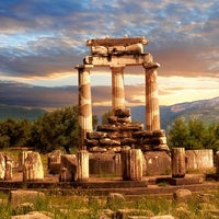 Photo taken at Delphi by Travel'in Greece on 5/25/2013