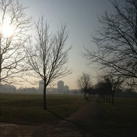 Photo taken at Victoria Park by James W. on 3/5/2013