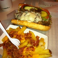 Photo taken at Charleys Philly Steaks by Cruz L. on 6/29/2013