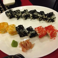 Photo taken at sushi bar by Mariam S. on 6/13/2014