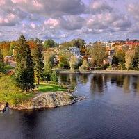 Photo taken at Savonlinnan Helluntaikirkko by Theodore on 9/29/2014