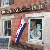 Photo taken at Blackback Pub by Steve B. on 6/14/2013