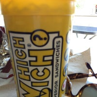 Photo taken at Which Wich? Superior Sandwiches by James J. on 5/30/2013