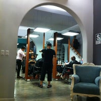 Photo taken at Hair Studio by Irvine T. on 2/9/2013