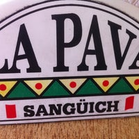 Photo taken at La Pava Sangüich by Irvine T. on 11/21/2012
