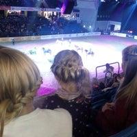 Photo taken at Tallinn International Horse Show by Magnus R. on 10/5/2014