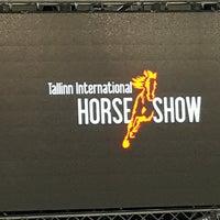 Photo taken at Tallinn International Horse Show by Magnus R. on 10/8/2016