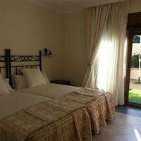 Photo taken at Hotel Palau Verd by Carmen M. on 7/8/2013