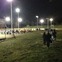 Photo taken at Patterson Park Kickball by Jeremy T. on 3/28/2013