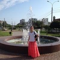 Photo taken at Сквер Совета Европы by Ghost H. on 7/16/2013