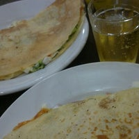 Photo taken at Crepes Mania by Leandro Prestes S. on 9/23/2014