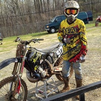 Photo taken at Budds Creek Motocross by Teresa T. on 4/12/2014