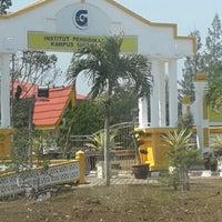 Photo taken at Institut Pendidikan Guru Malaysia (IPGM) Kampus Sultan Mizan by Fadzil H. on 2/4/2014