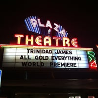 Photo taken at Plaza Theatre by Buda on 10/16/2012
