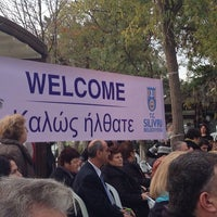 Photo taken at Barcelona Evleri - Havuz by ilhan t. on 11/9/2014