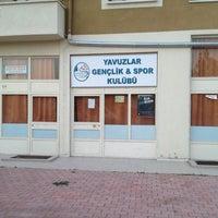 Photo taken at Yavuzlar Gençlik Spor Kulübü by Mehmet D. on 6/4/2013