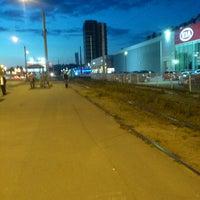 Photo taken at Остановка «Улица Жени Егоровой» by Ekaterina R. on 9/14/2013