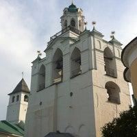 Снимок сделан в Спасо-Преображенский монастырь пользователем Aleksandr K. 5/25/2013