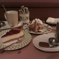 Photo taken at Tea & Chocolat by Mia W. on 6/1/2013